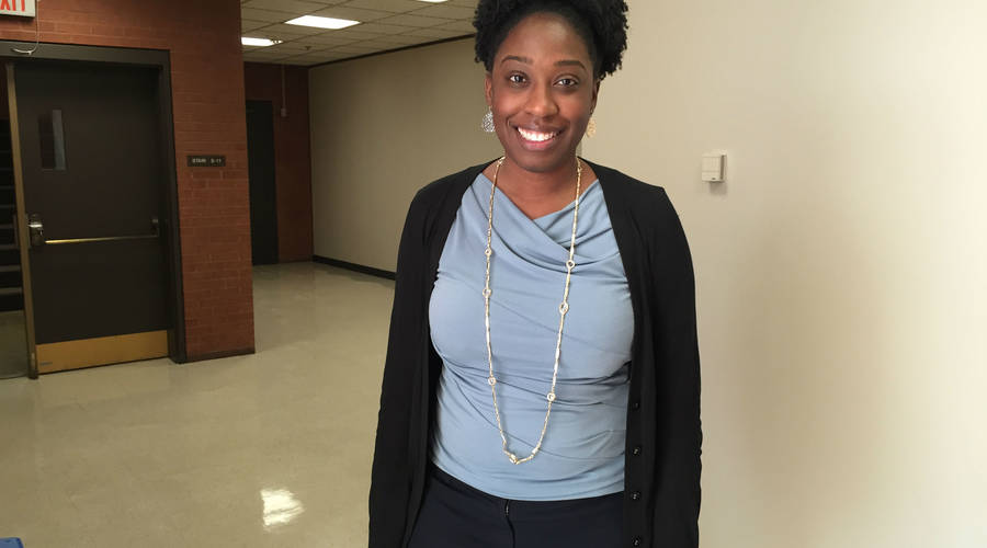 Building a more diverse faculty : Keisha Allen