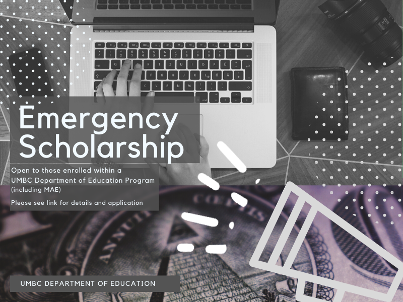 Emergency Scholarship