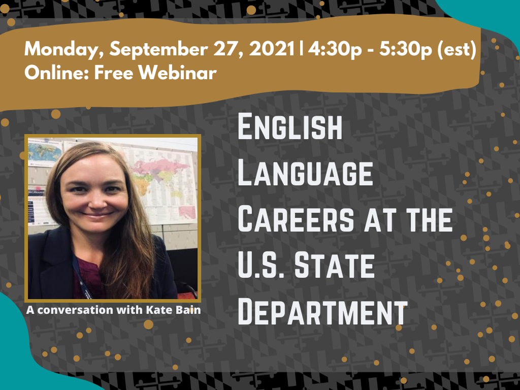 English Language Careers At the U.S. State Department
