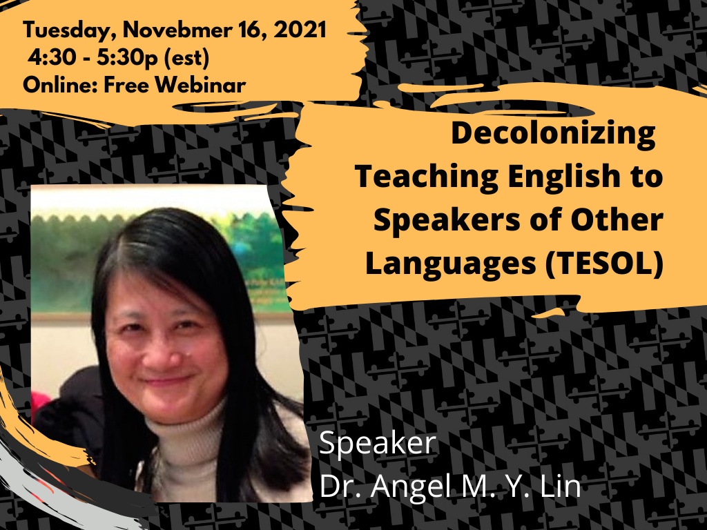 Decolonizing Teaching English to Speakers of Other Languages (TESOL)